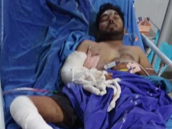 22 Years Old  M. Gnaneshwar Needs Your Help To Recover From Accident