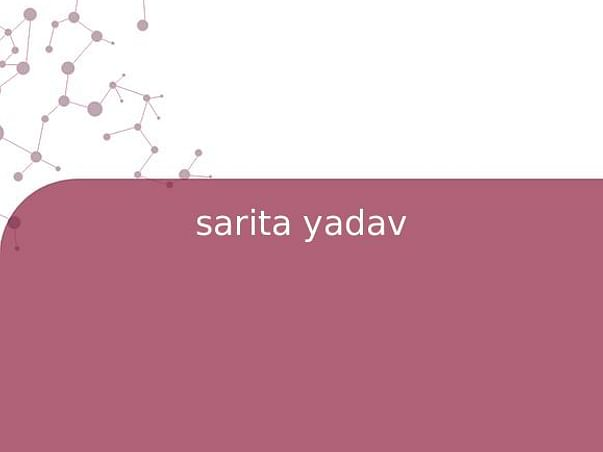 sarita yadav