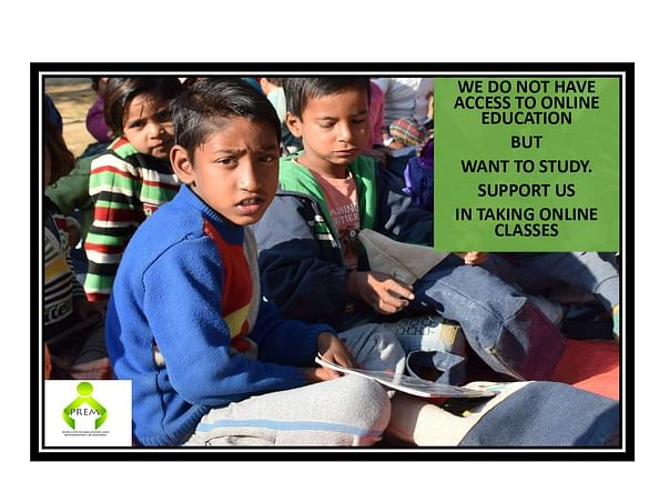 Support to empower children from the disadvantaged background!