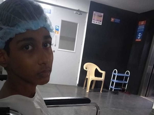 14 Years Old Mohit Sai Needs Your Help Fight Bone Cancer