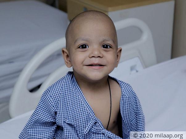 2 years old Dheeraj needs your help fight lymphoblastic leukemia
