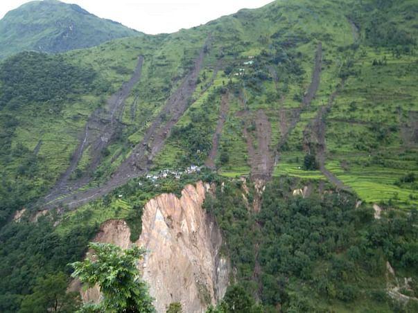 Tanga Village after cloudburst