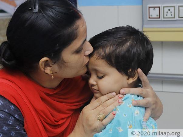 2 years old Samiksha needs your help fight Acute lymphoblastic leukemia (all)