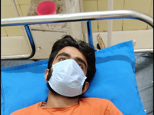 23 Years Old Vikas Sharma Needs Your Help Recover from Spinal Cord Problem