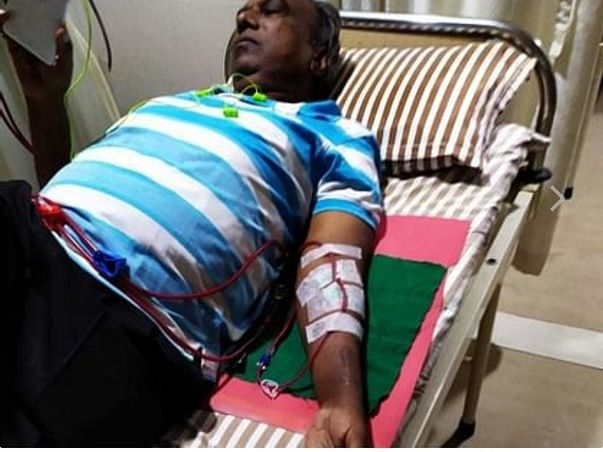 Pls help my Father tested covid with dialysis thrice week