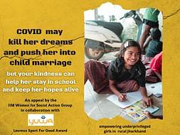 Help the girls stay in school