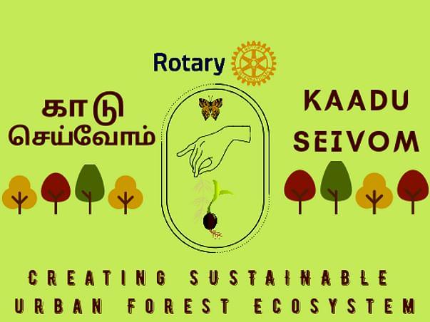 Kaadu Seivom- Creating urban forest Ecosystem
