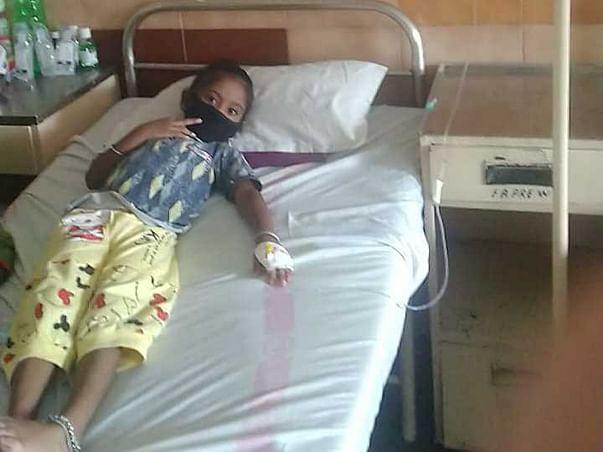 4 Years Old Bhakti Tank Needs Your Help To Fight For Aplastic Anemia And Needed Bone Marrow Transplant