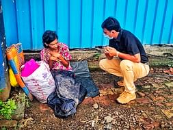 Rehabilitation of homeless abandoned roadside mentally ill patients.