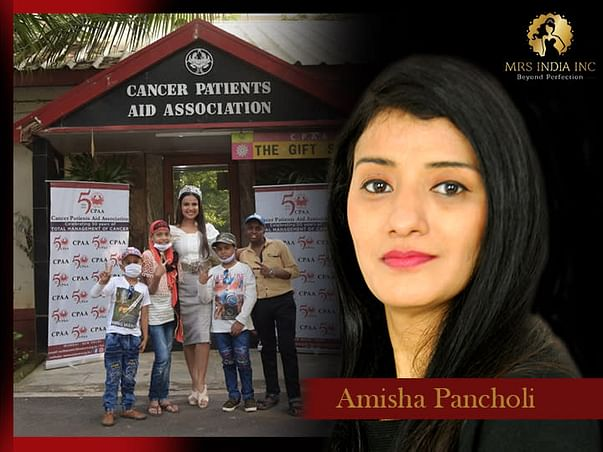 Help Children With Cancer And Their Families With Amisha Pancholi