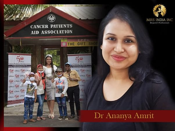 Help Children With Cancer And Their Families With Ananya Amrit