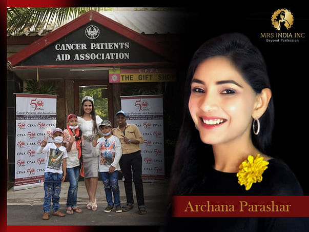 Help Children With Cancer And Their Families With Archana Parashar