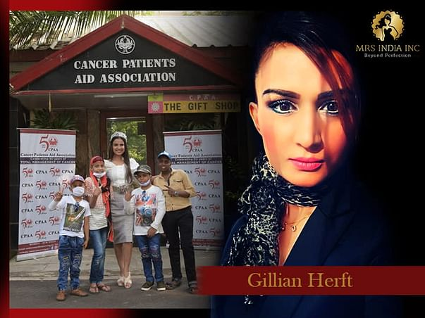 Help Children With Cancer And Their Families With Gillian Hertz