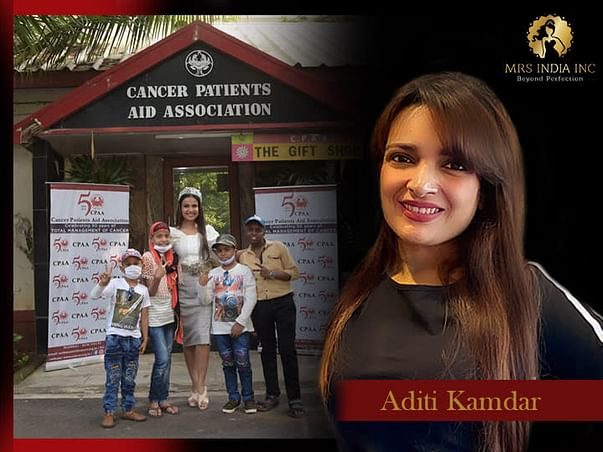 Help Children With Cancer And Their Families With Aditi Kamdar
