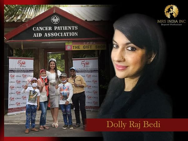 Help Children With Cancer And Their Families With Dolly Raj Bedi