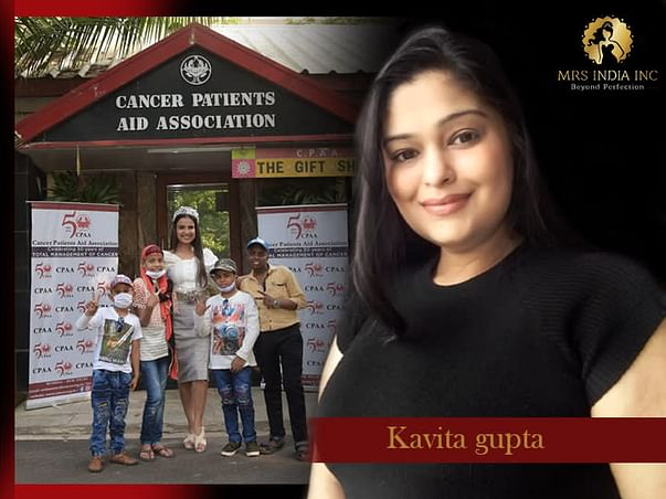 Help Children With Cancer And Their Families With Kavita Gupta