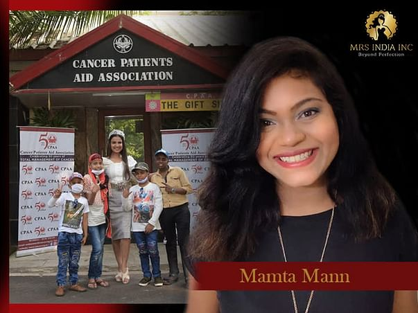 Help Children With Cancer And Their Families With Mamta Mann