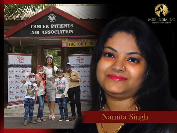Help Children With Cancer And Their Families With Namita Singh