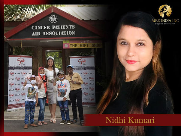 Help Children With Cancer And Their Families With Nidhi Kumari