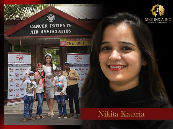 Help Children With Cancer And Their Families With Nikita Kataria