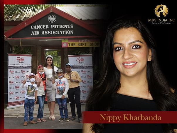 Help Children With Cancer And Their Families With Nippy Kharbanda