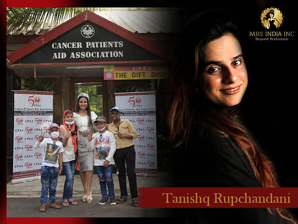 Help Children With Cancer And Their Families With Tanishq Rupchandani
