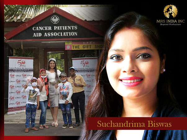 Help Children With Cancer And Their Families With Suchandrima Biswas