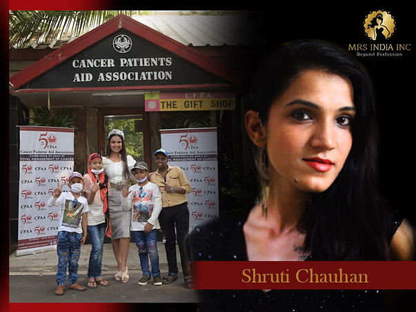 Help Children With Cancer And Their Families With Shruti Chauhan