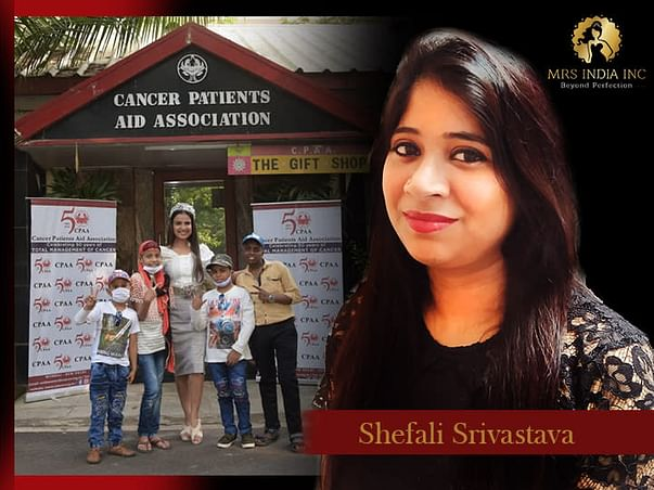 Help Children With Cancer And Their Families With Shefali S