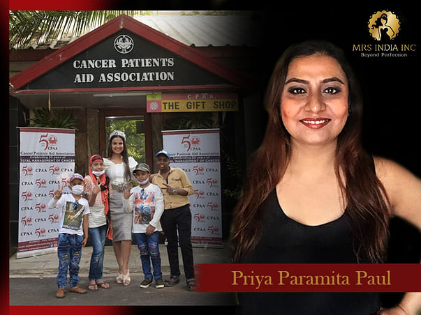 Help Children With Cancer And Their Families With Priya Paramita Paul