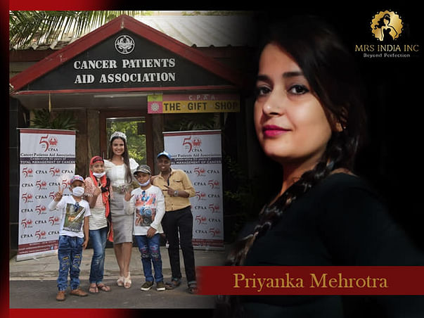 Help Children With Cancer And Their Families With Priyanka Mehrotra