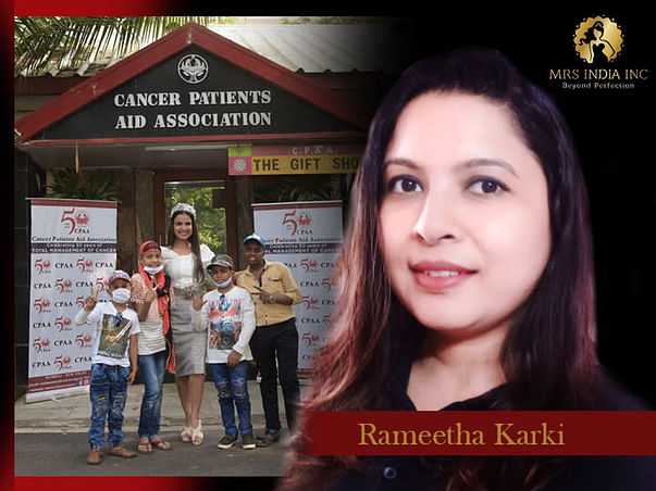 Help Children With Cancer And Their Families With Rameetha Karki