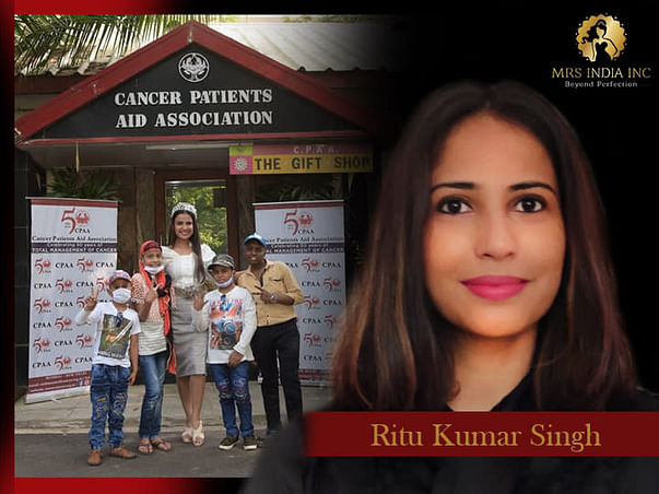 Help Children With Cancer And Their Families With Ritu Kumar Singh