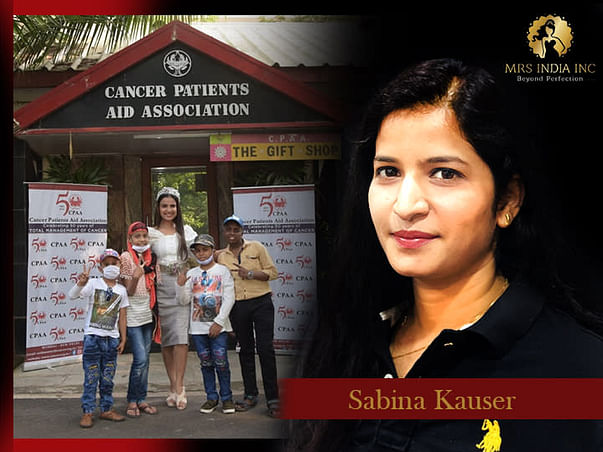 Help Children With Cancer And Their Families With Sabina Kauser