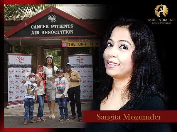 Help Children With Cancer And Their Families With Sangita Mozumder
