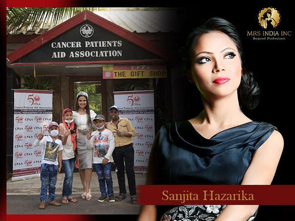 Help Children With Cancer And Their Families With Sanjita Hazarika