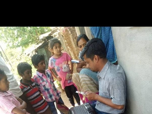 Computer education and art tuition to 6 villages students