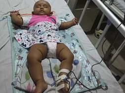 My 5 Months Old Needs Your Urgent Support In Fighting Beta Thalassemia Major