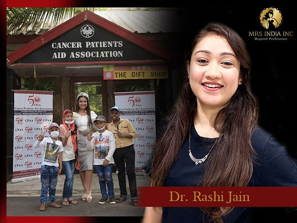 Help Children With Cancer And Their Families With Dr. Rashi Jain