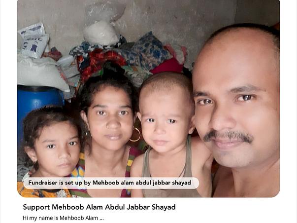 Support Mehboob Alam Abdul Jabbar Shayad