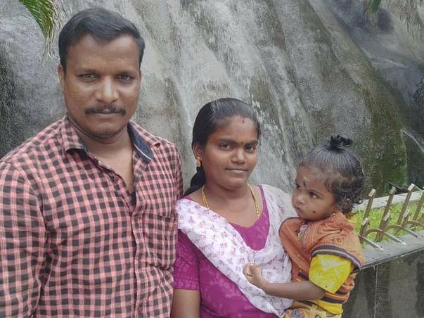 To help Karikalan's family & his child