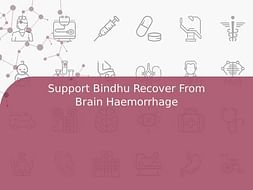 Support Bindhu Recover From Brain Haemorrhage