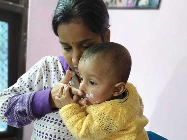 1 year old Nakshatra needs your help fight Acute lymphoblastic leukemia (all)