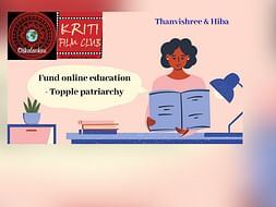 Fund online education- Topple patriarchy