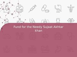 Fund for the Needy Sujaat Akhtar khan