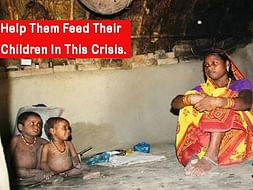 Food and medical aid for daily wagers and children. Help today.