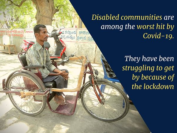 Support Persons with Disability Left Jobless by Covid19