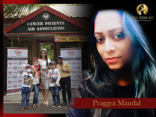 Help Children With Cancer And Their Families With Praggya Paromita