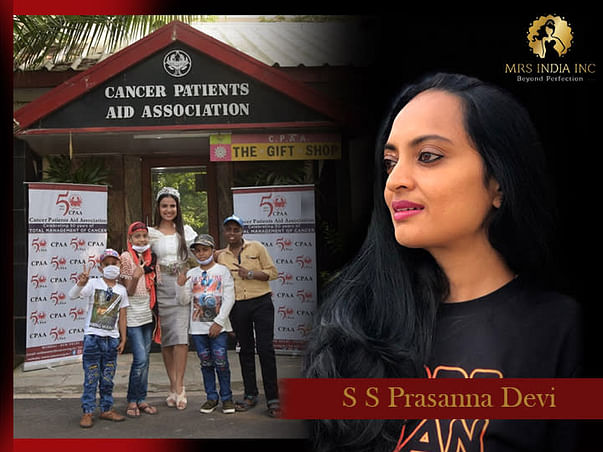 Help Children With Cancer And Their Families With S S Prasanna Devi