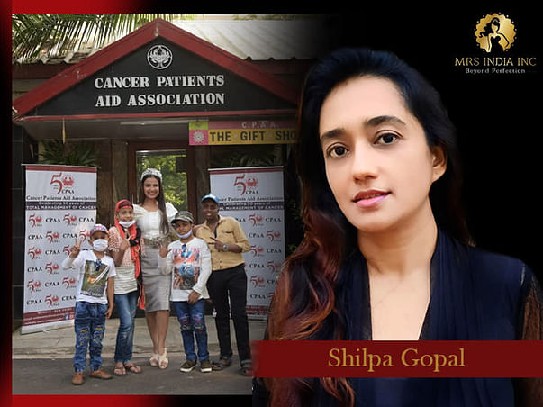 Help Children With Cancer And Their Families With Shilpa Gopal